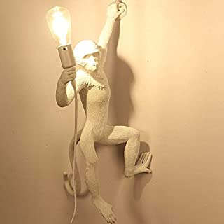 GHMOZ Modern LED Monkey Wall Lamp for Home Decoration Art Living Room Wall Light Restaurant Hotel Hanging Indoor Lighting ...