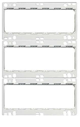 BTICINO – Cadre avec supports pour 18 modules LivingLight installation sur Kit Art. 1610. Lt/LTG/LTH