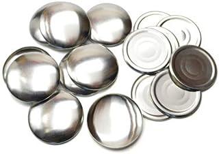 48mm くるみボタン 足なしタイプ セット 10個 2パッケージセット ※くるみボタン打ち具は別売
