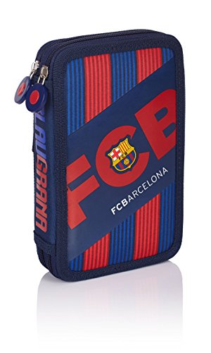FC Barcelona Barca Fan 5 Federmäppchen, 1,28 Liter, Navy Blue - 503017003