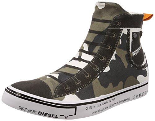 Diesel Herren Sneaker, Oliv (tarnfarbe), EU 46