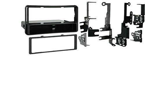 Metra 99-8206 Single DIN Installation Kit for 2001-2007 Toyota Highlander/4 Runner,Black