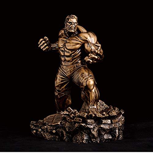 NYDZDM Revenge Alliance 2 Hulk Imitación Cobre Estatua Muñeca Modelo Regalo Recuerdo