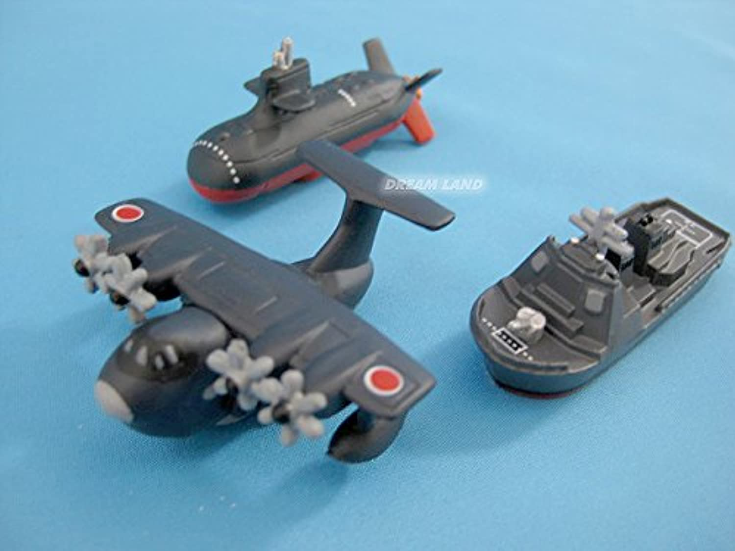 Magnet airplane set airplane [Maritime SelfDefense Force rescue flying boat Aegis destroyers, submarines]