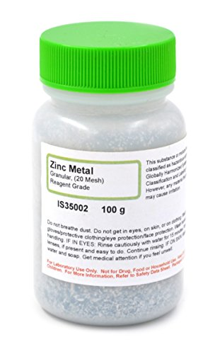 Reagent Grade Granular Metal Zinc, …