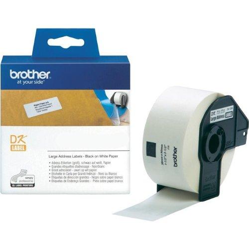 Preisvergleich Produktbild P-Touch QL 720,  QL 720NW Brother Etiketten 38 x 90 mm,  Papier,  400 Stück 38x90,  DK Label für Ptouch QL720,  QL-720 NW