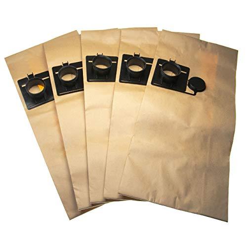 vhbw 5 bolsa aspiradora papel reemplaza Festool 452970 para aspiradora 60cm x 26.6cm
