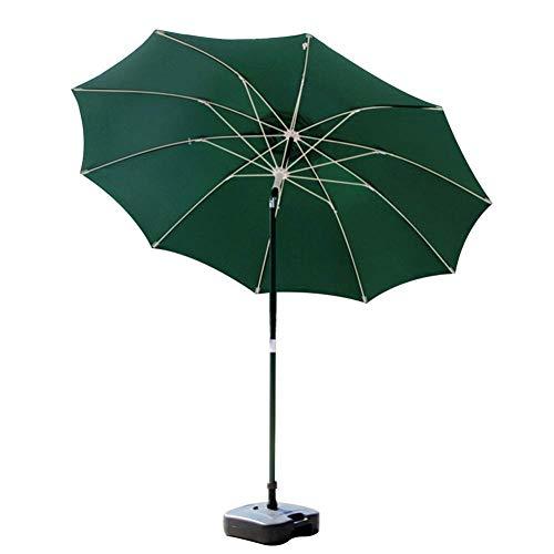 LY88 Paraplu terrasparasol tuintafel met drukknop kantelen, draagbare paraplu voor markt, zwembad, dek, strand, tuin, achtertuin, zwembad