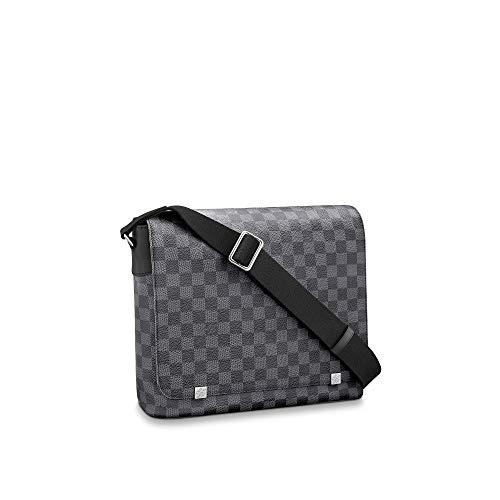 Louis Vuitton District Messenger Bag (Damier Graphite, MM)