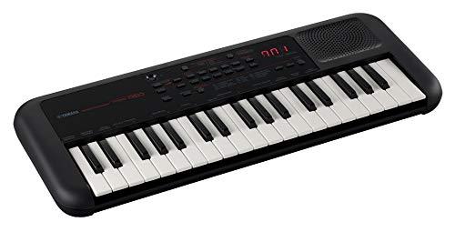 YAMAHA PSS-A50 - Teclado portátil digital con grabación de frases, 42 voces integradas y 138 tipos de arpegio con un diseño ligero, en color negro, 37 Key