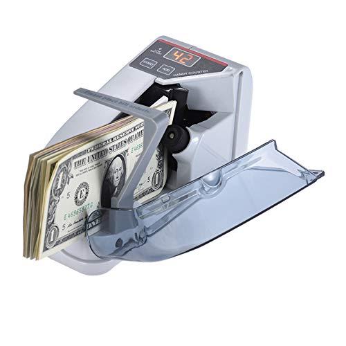 Nishore Moeda acessível do dinheiro do contador da cédula do dinheiro de Bill mini que conta a CA da máquina ou a pilhas