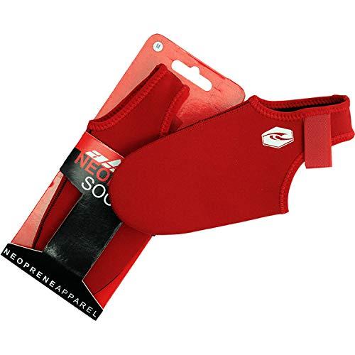Alder Vapour 2.5mm Bodyboard Fin Socks 2020 - Red WAF11 8/9 UK