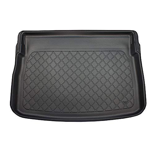 MDM Kofferraumwanne für Golf 7 Sportsvan ab 2014-, Kofferraummatten Passgenaue mit Antirutsch, Passend für: alle Versionen, cod. 4843