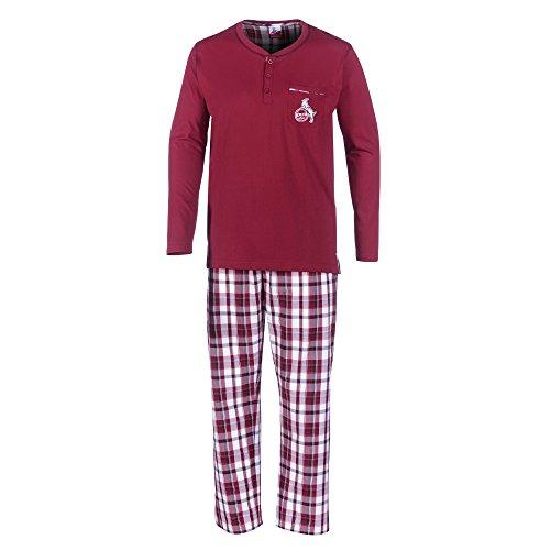 "1. FC Köln Kinder Kids Pyjama Schlafanzug ""Schlawer STR Gr. 110/116"
