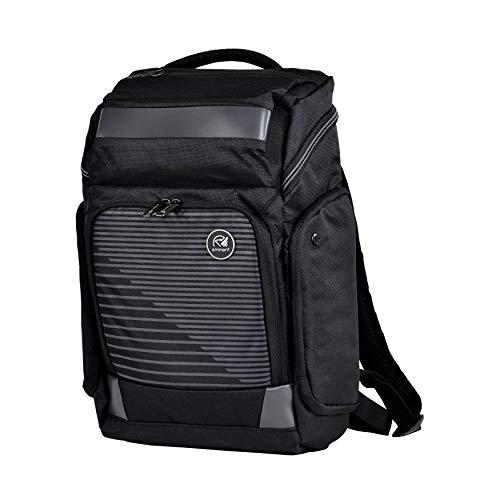 Eminent Laptop-Rucksack Lift 44cm (18 Zoll) 24l leicht Diebstahlschutz nachhaltige Rucksäcke für Business, Freizeit, Urlaub, Outdoor, Tagesrucksack für Herren, Damen, Uni oder Schule, Schwarz
