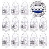 LEDMOMO 50 Stücke LED Ballons Lichter Mini Beleuchte für Luftballons, Papierlaternen Dekor (Weiß)