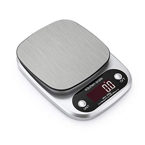 DSDD Küchenwaage Digital 10 kg, elektronische Küchenwaage wiegen kulinarische Küchenwaage, Digitale Lebensmittelwaage zum Backen, Kochen, Essen und Zutaten