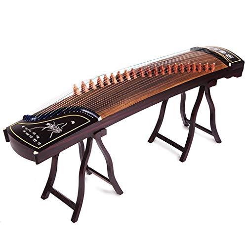 GuanXiao Chinesische Guzheng-Massivholz-Rosenholz-Farben-Berufsprüfung, die Zither-nationales Orchesterinstrument der Beschriftung spielt