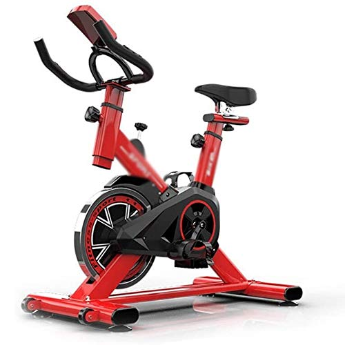 Lowest Price! Exercise Bikes CHHCYH Indoor Cycling Bike Bicycle with LCD Monitor for Home Cardio Wor...