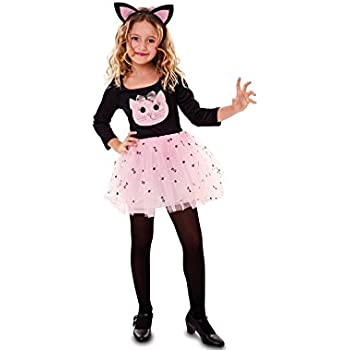 Fyasa 706537-t01 gato disfraz, rosa, tamaño mediano: Amazon.es ...