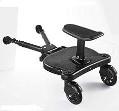 Vogvigo Toddlers Stroller Board, Kiddy Board Mit Sitzständer, Kinderwagenanschluss,Stabiles Zweirad-Design