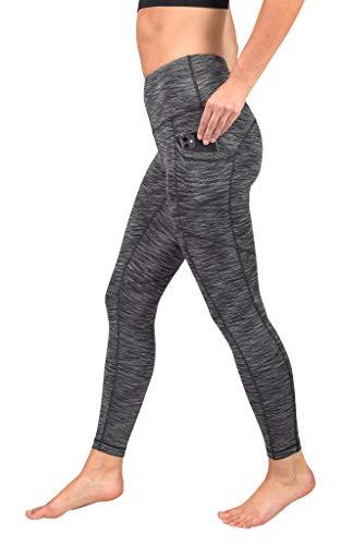 90 Degree By Reflex Womens Power Flex Yoga Pants - Burgogne - XS