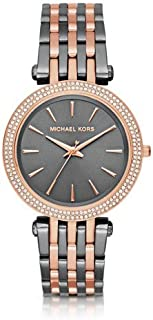 Michael Kors Womens Analogue Quartz Watch with Stainless Steel Strap MK3584