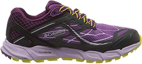 Columbia Caldorado III, Zapatillas de Running para Asfalto para Mujer, Morado (Crown Jewel, Gi 523), 37 EU