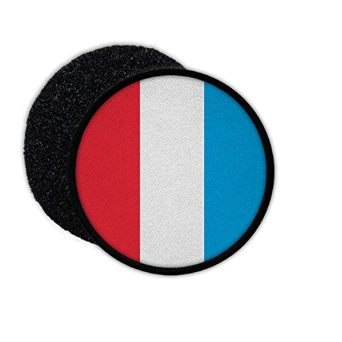 Copytec Patch Luxemburg Fahne Luxembourg Lëtzebuerg Aufnäher Heimat Flagge#35220