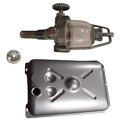 New Fits Ford Tractor Fuel Tank, Cap, & Sediment Bowl 2N 8N 9N Replaces 2N9155B 9N9002 9N9030