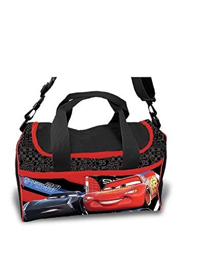Kinder Tasche - Sporttasche - Cars - Kindertasche - rot - Tasche ca. 35 x 16 x 24 cm