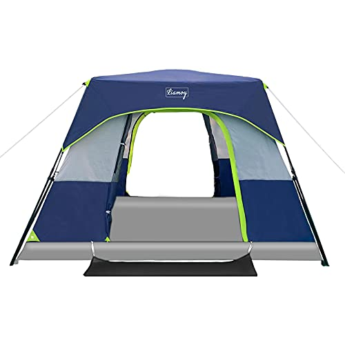 6-Person Instant Tent 60 Seconds Setup Camping...