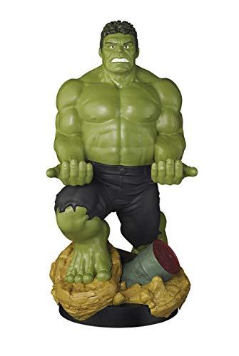 Exquisite Gaming - Cable guy XL Hulk, soporte de sujeción o carga para mando de consola, smartphone y tableta con licencia de Marvel Avengers Endgame
