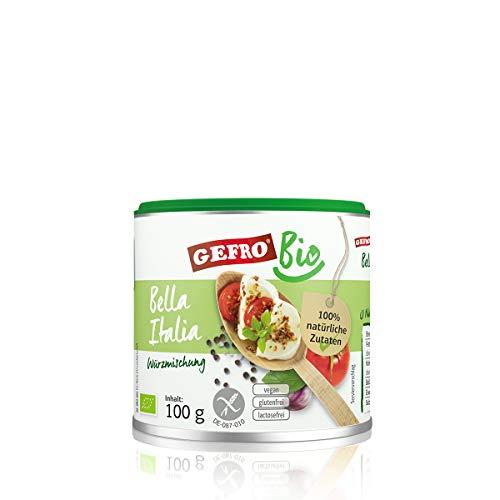 GEFRO BIO Bella Italia Italienische Kräuter zum Würzen für Salate und Dips (100g)