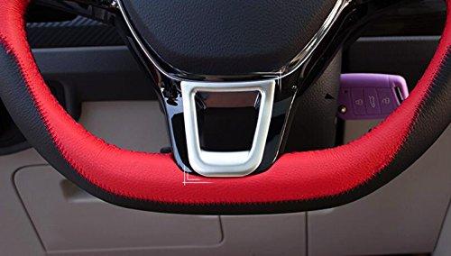 in plastica ABS colore opaco High Flying Modanatura interna per volante