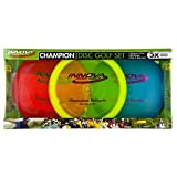 Innova Champion Disc Golf Set – Driver, Mid-Range & Putter, 150 Grams Each, Colors May Vary (3 Pack), Colors Vary, ICD-1