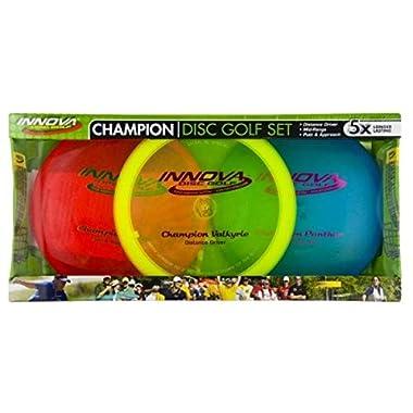 Innova – Champion Discs Golf Set – Driver, Mid-Range & Putte