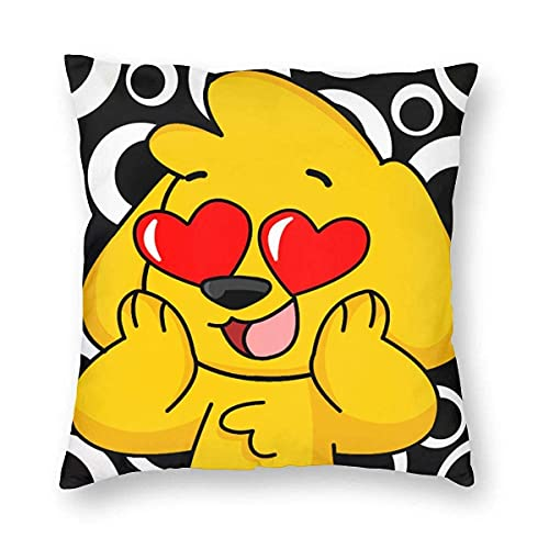 Decorative Square Pillow Covers Travel Pillow Cases Throw Cushion Mikec-Rack 3D Printing Double-Sided Printing for Living Room Sofa Couch Bed Home Decor 24'' X24