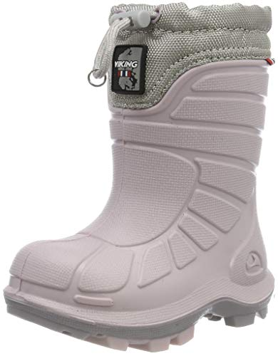 Viking Extreme Unisex-Kinder Schneestiefel, Pink (Light Lilac/Pearl Grey), 39 EU
