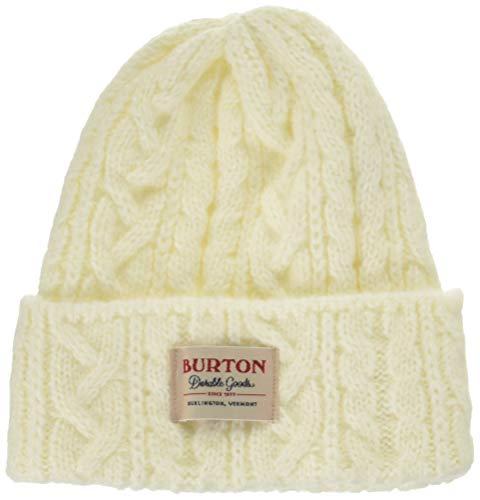 Burton(バートン) スノーボード ニット帽 メンズ ビーニー ニットキャップ ZOWIE BEANIE 2019-20年モデル 1SZ ALMOND MILK 17652103115