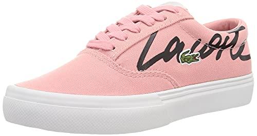 Lacoste Wide LASTLOLACE01211 CFA, Zapatillas Mujer, Pnk/Off Wht, 38 EU