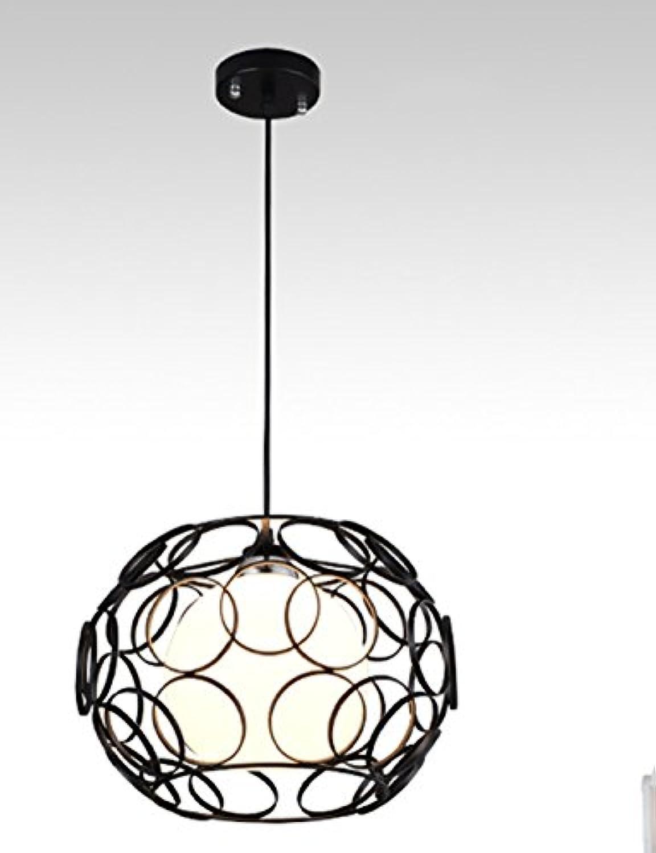 GYP Kronleuchter Restaurant Einfache Moderne Kreative Restaurant Deckenleuchte Schlafzimmer Bar Lampen ( Farbe   Schwarz )