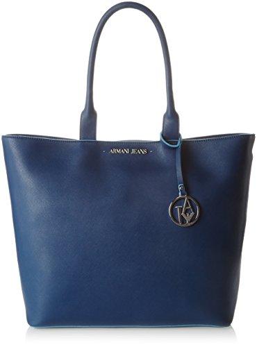 Armani Jeans 922535CC856 Dames Shopper 11x33x45 cm (B x H x D), Blauw (OCEAN BLU 09934)