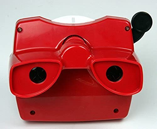 los clientes primero Classic Viewmaster Viewer 3D Model L L L in rojo by View-Master  Felices compras