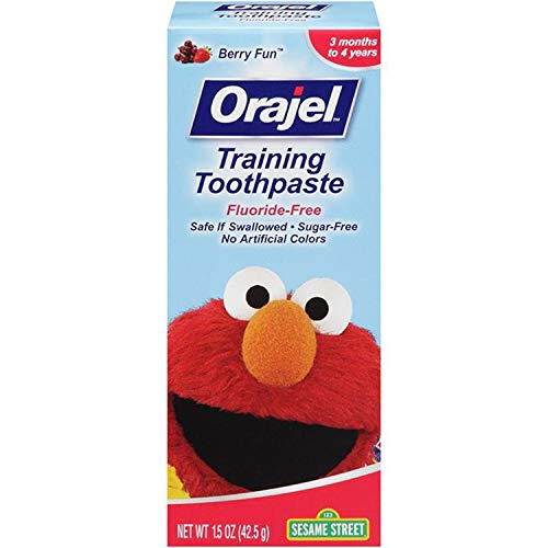 Orajel Toddler Training Toothpaste Berry Fun 1.50 oz