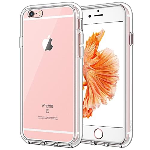 JETech Cover Compatibile iPhone 6 Plus / 6s Plus, Custodia con Paraurti Assorbimento degli Urti e Anti-Graffio, Trasparente