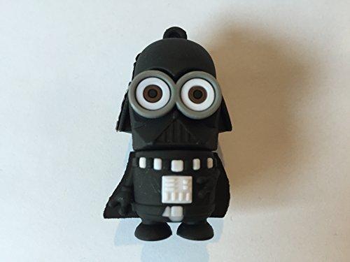 USB 16GB-32GB Goma Minion Disfrazado Darth Vader (32GB)