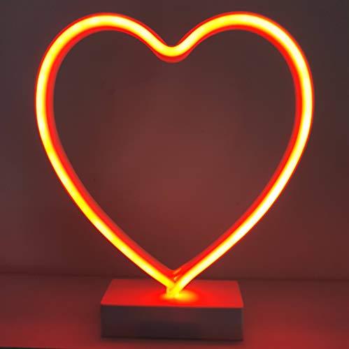 Grundig lED-Lampe Neon-Herz 42 x 29 cm