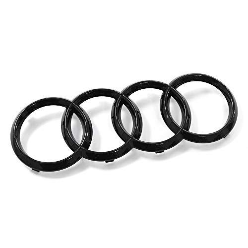 Audi 83A071801 - Emblema de Audi para parrilla de radiador, color negro
