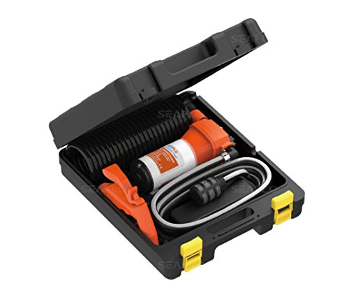 SEAFLO 41-Series Portable Washdown Pump Kit - 12V DC, 4.5 GPM, 70 PSI for Marine, RV, and Agriculture